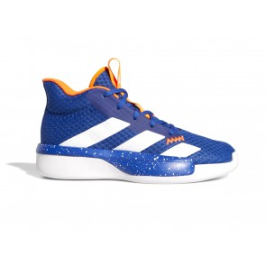 SCARPE BASKET JUNIOR ADIDAS  EF0856  PRO NEXT 2019 BLUE/ACTGOL