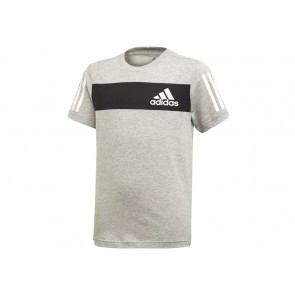 T-SHIRT JUNIOR ADIDAS  ED6502  YB SPORT ID BLACK/WHITE