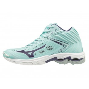 SCARPE PALLAVOLO VOLLEY DONNA MIZUNO  V1GC1905 28  WAVE LIGHTNING Z5 MID WOS BLUELIGHT/ASTRALAURA