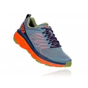 SCARPE TRAIL UOMO HOKA ONE ONE  1104093  CHALLENGER ATR 5 M STORMY WEATHER/MOON