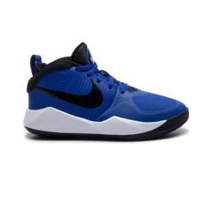 SCARPE BASKET JUNIOR NIKE  AQ4224 400  TEAM HUSTLE D 9 GS ROYAL/BLACK-WHITE