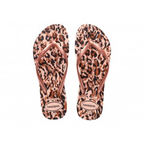 CIABATTE INFRADITO DONNA HAVAIANAS ESTATE 4103352 0076  SLIM ANIMALS BALLET ROSE