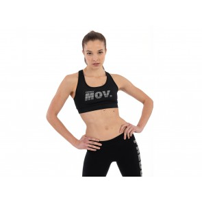 TOP DONNA FREDDY  S0WFTB2 N  ACTIVE FITNESS BLACK