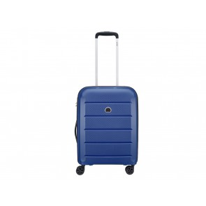 VALIGIA TROLLEY CABINA 4R  DELSEY  00310180302  BINALONG 55 CM BLUE