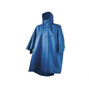PONCHO IMPERMEABILE UNISEX CAMP  1999 2  RAIN STOP CAGOULE BLUE
