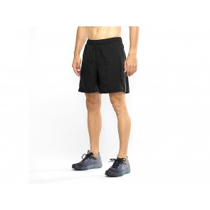 SHORT RUNNING UOMO SALOMON  C10487  AGILE 2IN1 BLACK