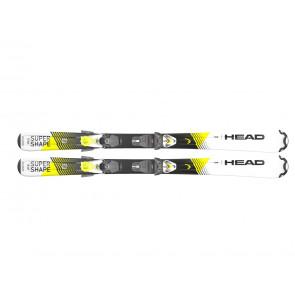 SCI CON ATTACCHI JUNIOR HEAD  314200 107  SUPERSHAPE TEAM SLR+SLR 4.5 WH/YW