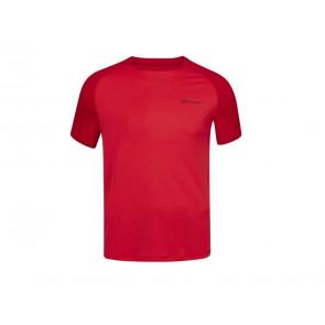 T-SHIRT TENNIS UOMO BABOLAT ESTATE 3MP1011 5027  PLAY CREW NECK TEE TOMATO RED